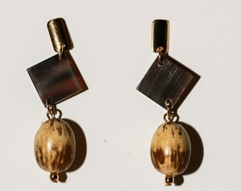 Coconut Dende Earrings