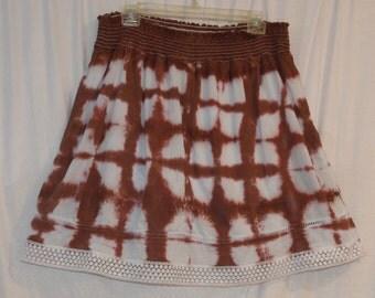 1712 Shibori Skirt