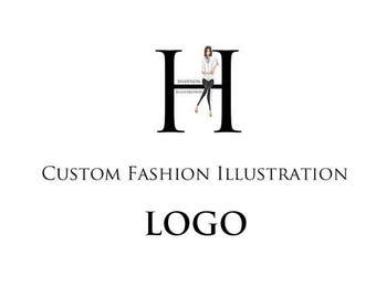 Custom Fashion Illustration - LOGO