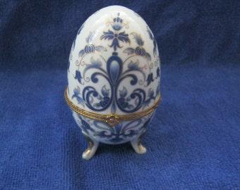 Beautiful painted egg