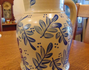 Large Beaumont Brothers Potter Pitcher (free shipping)