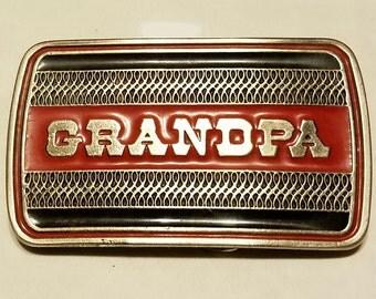 Vintage GRANDPA Belt Buckle