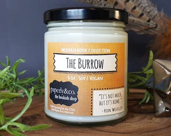 LARGE The Burrow 8 oz. Soy Candle