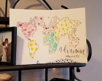 Customizeable World Maps