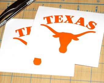 Texas Longhorns Sticker | University of Texas Decal | Longhorns Sticker
