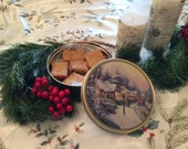 Blondies / Congo Bars in a Cookie Tin, Hostess Gift, Chocolate Chip Cookie Bar, Gifts under 25