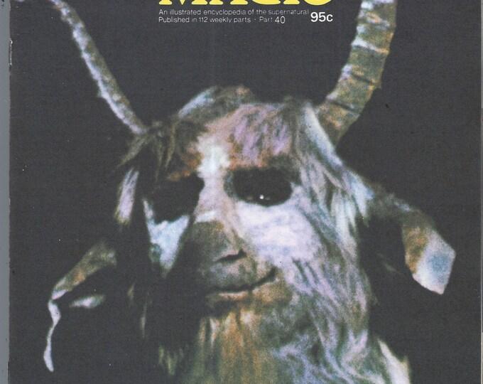 Man, Myth and Magic Part 40 Magazine by Richard Cavendish 1970