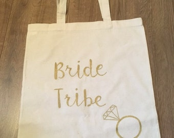 Bride Tribe Canvas Tote Bag