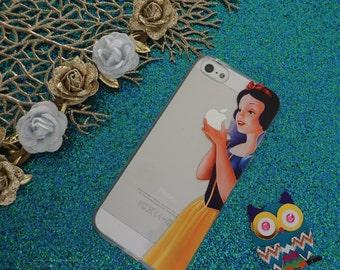 Snow White - iPhone Case - Disney-  Pretty - Girls - Gift - Cartoon Picture -  iPhone 4/4s - iPhone 5/5s - iPhone 5c
