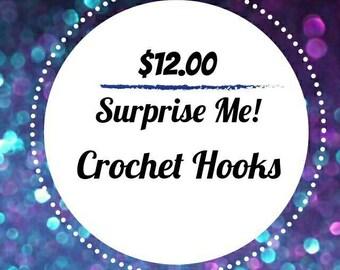 SURPRISE ME! 12 Dollar Crochet Hooks