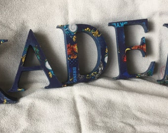 Customised letters, christmas gift, childrens room, childs name, customised names, wooden letters, wedding letters, home decor, initials.