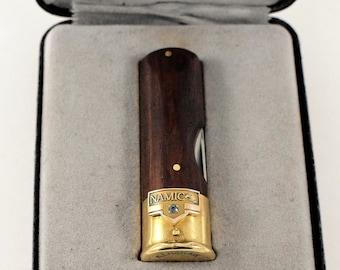 Kershaw 12 GAD Shotgun Shell Pocket Knife With 10K Gold Emblem   297