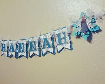 Frozen Theme Name Banner