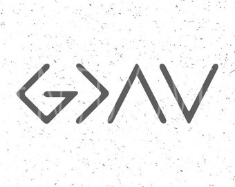 God is Greater than the highs and lows svg God is Greater svg God SVG Christian SVG Religious SVG File Cricut Digital Cut File silhouette