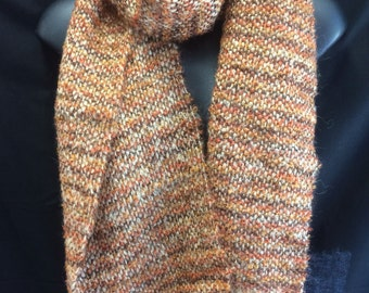 Handwoven Mohair Boucle Scarf