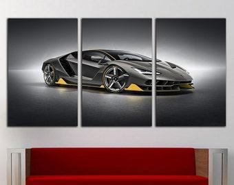 Lamborghini canvas Lamborghini print Lamborghini wall art Lamborghini decor Lamborghini poster Lamborghini Photo Lamborghini Art Lamborghini