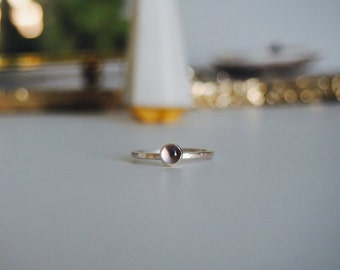 Pale lavender Amethyst ring size 7.5