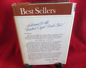 "1969 Reader's Digest ""Best Sellers"", Collectible Copy"