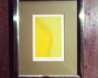 Teri Van Huss Signed Print, Terri Van Huss Art, Mid Century Art,  Abstract Art, Modern Art,  Terri Van Huss, Original Art, Home Decor