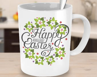 Have a Happy Easter Drinking Mug - Best Selling Holiday Gift  for Easter Bunny