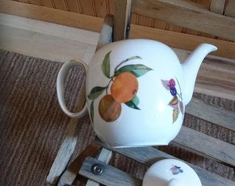 Royal Worcester Evesham Teapot