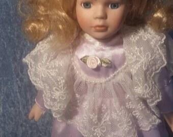 Lavender little girl