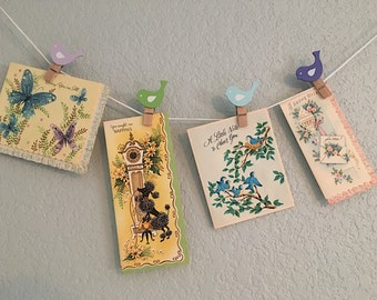 11 Vintage Greeting Cards 1950's New Old Stock/Never Used