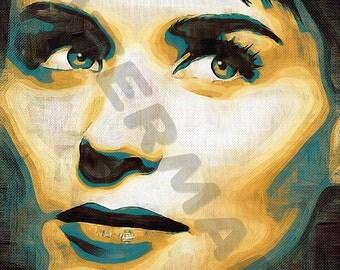 Patricia Mara Art Print - Oil Painting Poster  LFF0164