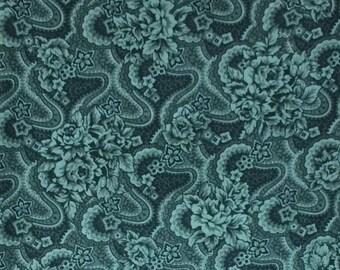 Fabric -Gorgeous greens print fabric