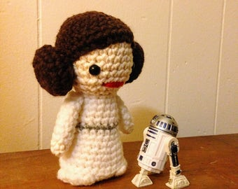 Princess Leia Organa Star Wars A New Hope Amigurumi