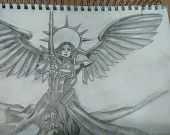 Saint Celestine from Warhammer 40k