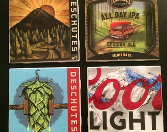 Beer Box Coaster Set