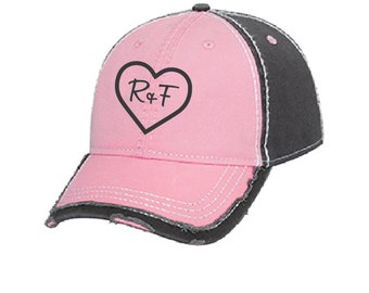 Pink Rodan and Fields hat, embroidered Rodan and Fields hat