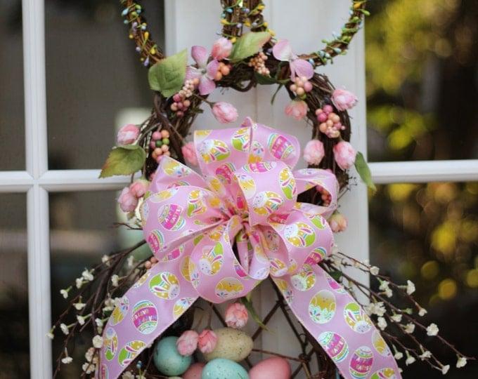 easter wreath easter bunny wreath bunny wreath easter bunny spring wreath