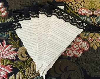 Fifty shades of grey Book Bunting