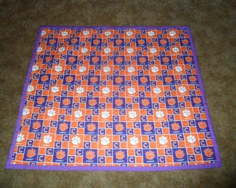 Unique Football Baby Quilt Related Items Etsy