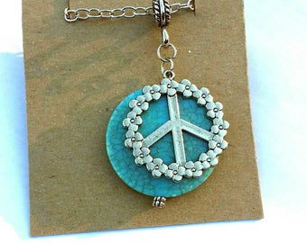 Peace Pendant Necklace