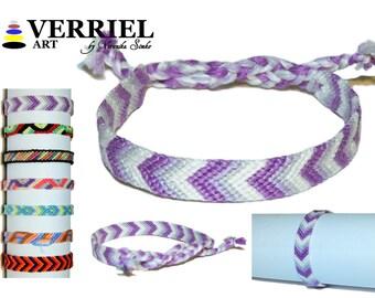 """Handmade bracelet made of 100% cotton """"Arrow"""""""