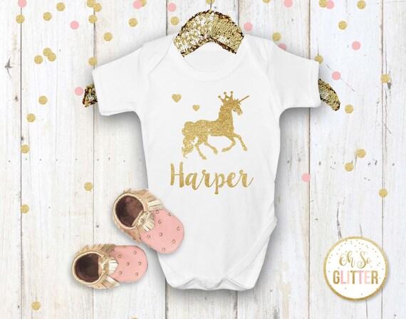 Custom Unicorn outfit, Unicorn Party, Unicorn outfit, bodysuit, babygrow, cake smash, onesie, onsie, Unicorn t shirt, birthday baby grow