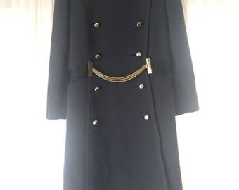 Women's Vintage Military Style Coat