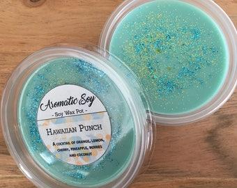 Hawaiian Punch Soy Wax Melt Pot Handmade