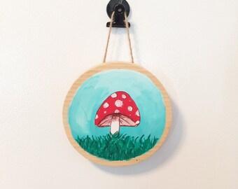 Little Mushroom Wall Hanging