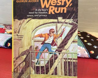 Vintage Paperback Book ~ Run, Westy, Run ~ 2nd Printing 1970 ~ Young Readers ~ Mystery