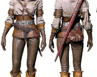 Ciri cosplay costume, The Witcher 3: Wild Hunt, Cirilla, Witcher 3 , Fiona Elen Riannon, Cintra, Halloween costume