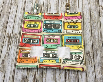 Retro Tapes Print Hay Bag for Guinea Pigs, Rabbits, Chinchillas and Other Small Animals