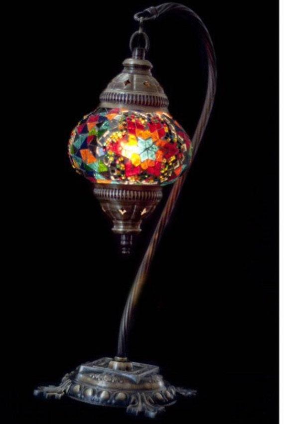 lampade di vetro fatti a mano mosaico turco lampada da - Lampade Arabe Italia
