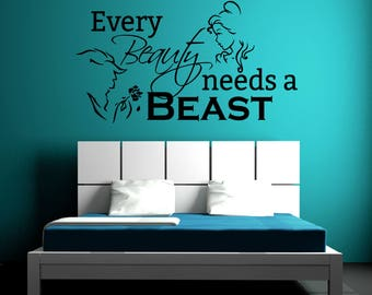 Be Our Guest Decal Etsy