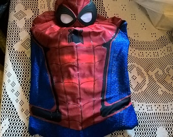 Spiderman civil war suit with modifications