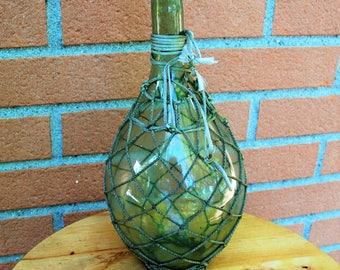 Ancient flask, glass blowing.