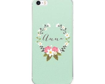 Custom Iphone 6 Case Vintage, Iphone 7 Case Floral, Iphone 5s Case Floral, Custom Iphone Case, Iphone SE Case Vintage, Iphone Case Floral